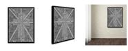 """Trademark Global Viz Art Ink 'White Light' Canvas Art - 24"""" x 32"""""""