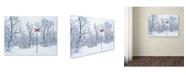 "Trademark Global Hugh Evans 'Red Cross' Canvas Art - 24"" x 32"""