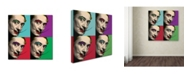 "Trademark Global Mark Ashkenazi 'Salvador Dali 2' Canvas Art - 35"" x 35"""