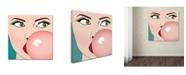 "Trademark Global Mark Ashkenazi 'Foto Bubble Gum' Canvas Art - 35"" x 35"""