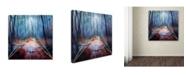 "Trademark Global Mark Ashkenazi 'Forest 13 2' Canvas Art - 24"" x 24"""