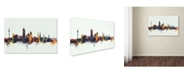"Trademark Global Michael Tompsett 'Vienna Austria Skyline V' Canvas Art - 22"" x 32"""