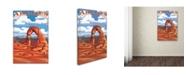 "Trademark Global Lantern Press 'Landscape 14' Canvas Art - 22"" x 32"""