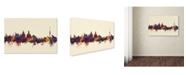 """Trademark Global Michael Tompsett 'Dresden Germany Skyline V' Canvas Art - 22"""" x 32"""""""