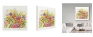 "Trademark Global Janneke Brinkman-Salentijn 'September Bouquet' Canvas Art - 35"" x 35"""