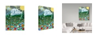 "Trademark Global Jake Hose 'Mazama Ridge Mount Rainier' Canvas Art - 35"" x 47"""