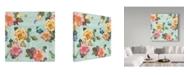 "Trademark Global Jean Plout 'Summer Gifts' Canvas Art - 24"" x 24"""