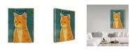 """Trademark Global John W. Golden 'Tabby' Canvas Art - 35"""" x 47"""""""