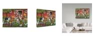 "Trademark Global William Vanderdasson 'Welcoming The New Pony' Canvas Art - 35"" x 47"""