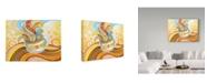 "Trademark Global Valarie Wade 'Rainbow Steam' Canvas Art - 24"" x 32"""