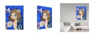 "Trademark Global Valarie Wade 'Indigo Spectrum' Canvas Art - 24"" x 32"""