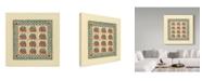 "Trademark Global Robin Betterley 'House Patchwork' Canvas Art - 24"" x 24"""