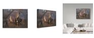 "Trademark Global Peder Severin Kroyer 'Burmeister And Wain' Canvas Art - 32"" x 24"""
