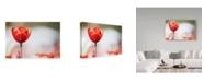 "Trademark Global Incredi 'Red Beauty 1' Canvas Art - 47"" x 30"""
