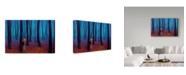 "Trademark Global James W. Johnson 'Introvert' Canvas Art - 32"" x 22"""