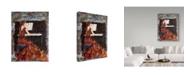 "Trademark Global Janelle Nichol 'Playing Chopin' Canvas Art - 35"" x 47"""