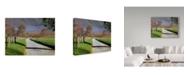 "Trademark Global J.D. Mcfarlan 'Hyatt Lane Country' Canvas Art - 32"" x 24"""