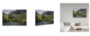 "Trademark Global J.D. Mcfarlan 'Norway 2' Canvas Art - 47"" x 30"""