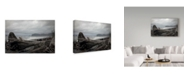 "Trademark Global J.D. Mcfarlan 'Olympic Np 3' Canvas Art - 32"" x 22"""