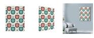 "Trademark Global Rachel Gresham 'Flower Garden White' Canvas Art - 35"" x 47"""