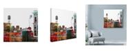 "Trademark Global Lovisart 'Where The Streets Have No Name' Canvas Art - 35"" x 35"""