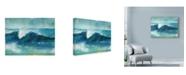 """Trademark Global Marietta Cohen Art And Design 'Ocean Waves 2' Canvas Art - 32"""" x 24"""""""