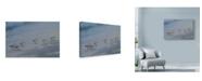 "Trademark Global Michael Jackson 'Beach Combers Detail' Canvas Art - 47"" x 30"""