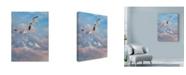 "Trademark Global Michael Jackson 'Flying High' Canvas Art - 35"" x 47"""