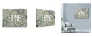 "Trademark Global Nicky Kumar 'Home Mandala Page' Canvas Art - 32"" x 24"""