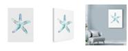 "Trademark Global Nicky Kumar 'Star Fish' Canvas Art - 24"" x 32"""