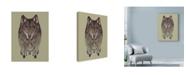 "Trademark Global Rachel Caldwell 'Wolf Dreams' Canvas Art - 35"" x 47"""