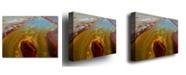 "Trademark Global Nicole Dietz 'Yellowstone Rusty Geyser' Canvas Art - 24"" x 18"""