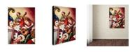 """Trademark Global Edgar Barrios 'Inspiriacion' Canvas Art - 47"""" x 35"""""""