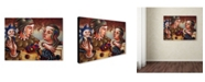 "Trademark Global Edgar Barrios 'Romanza' Canvas Art - 47"" x 35"""