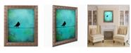 "Trademark Global Nicole Dietz 'Bird's Attention' Ornate Framed Art - 20"" x 16"""