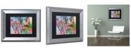 """Trademark Global Richard Wallich 'Artcar 3' Matted Framed Art - 11"""" x 14"""""""