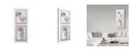 """Trademark Global Lisa Audit 'Floral Symphony' Canvas Art - 14"""" x 32"""""""