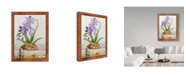 "Trademark Global Lisa Audit 'Orchids 2' Canvas Art - 14"" x 19"""