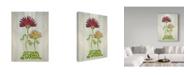 "Trademark Global Jessmessin 'Family' Canvas Art - 14"" x 19"""