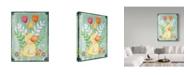 "Trademark Global Valarie Wade 'Duckie' Canvas Art - 14"" x 19"""