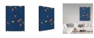 "Trademark Global Joyce Bantock 'Russia Blue' Canvas Art - 14"" x 19"""