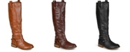 Journee Collection Women's Extra Wide Calf Walla Boot