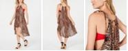 INC International Concepts I.N.C. Leopard-Print Beach Dress, Created for Macy's