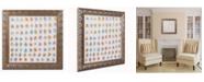 """Trademark Global Nicole Dietz 'Flower Pattern' Ornate Framed Art - 16"""" x 16"""""""