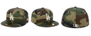 New Era Los Angeles Dodgers Woodland Basic 59FIFTY Fitted Cap
