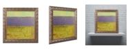 """Trademark Global Michelle Calkins 'Highway Series Lake' Ornate Framed Art - 16"""" x 16"""""""