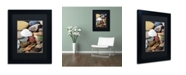 "Trademark Global Michelle Calkins 'PetoskeyStones lV' Matted Framed Art - 14"" x 11"""