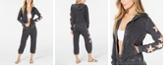 Miken Juniors' Burnout Star Zip Cover-Up Hoodie & Joggers, Created for Macy's