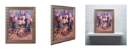 "Trademark Global David Lloyd Glover 'Still Life Apres Manet' Ornate Framed Art - 11"" x 14"""