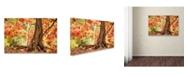 "Trademark Global Jason Shaffer 'Hang Tight' Canvas Art - 24"" x 16"""